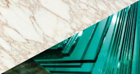 Vetri personalizzati per piani da appoggio lavandini e rinforzo lastre di marmo