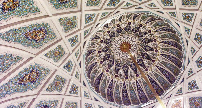 Marble Design, Production and Wall Cladding for Sultan Qaboos Grand Mosque – Muscat, Oman