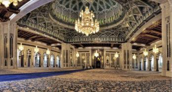 Rivestimento Interni in Marmo per Grande Moschea Sultan Qaboos – Muscat, Oman