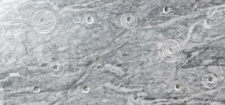 Finitura mattonelle di marmo