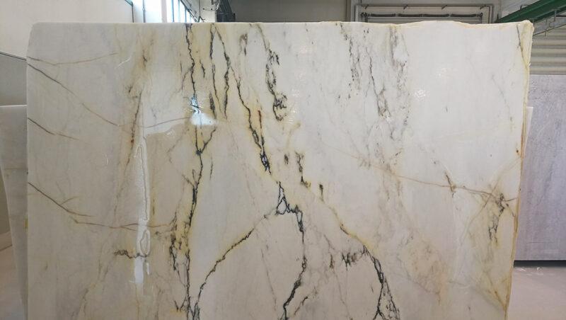 Lastra di marmo Paonazzo