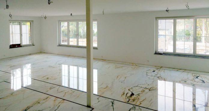 Private Residence, Marble flooring and bathroom – Bern, Switzerland