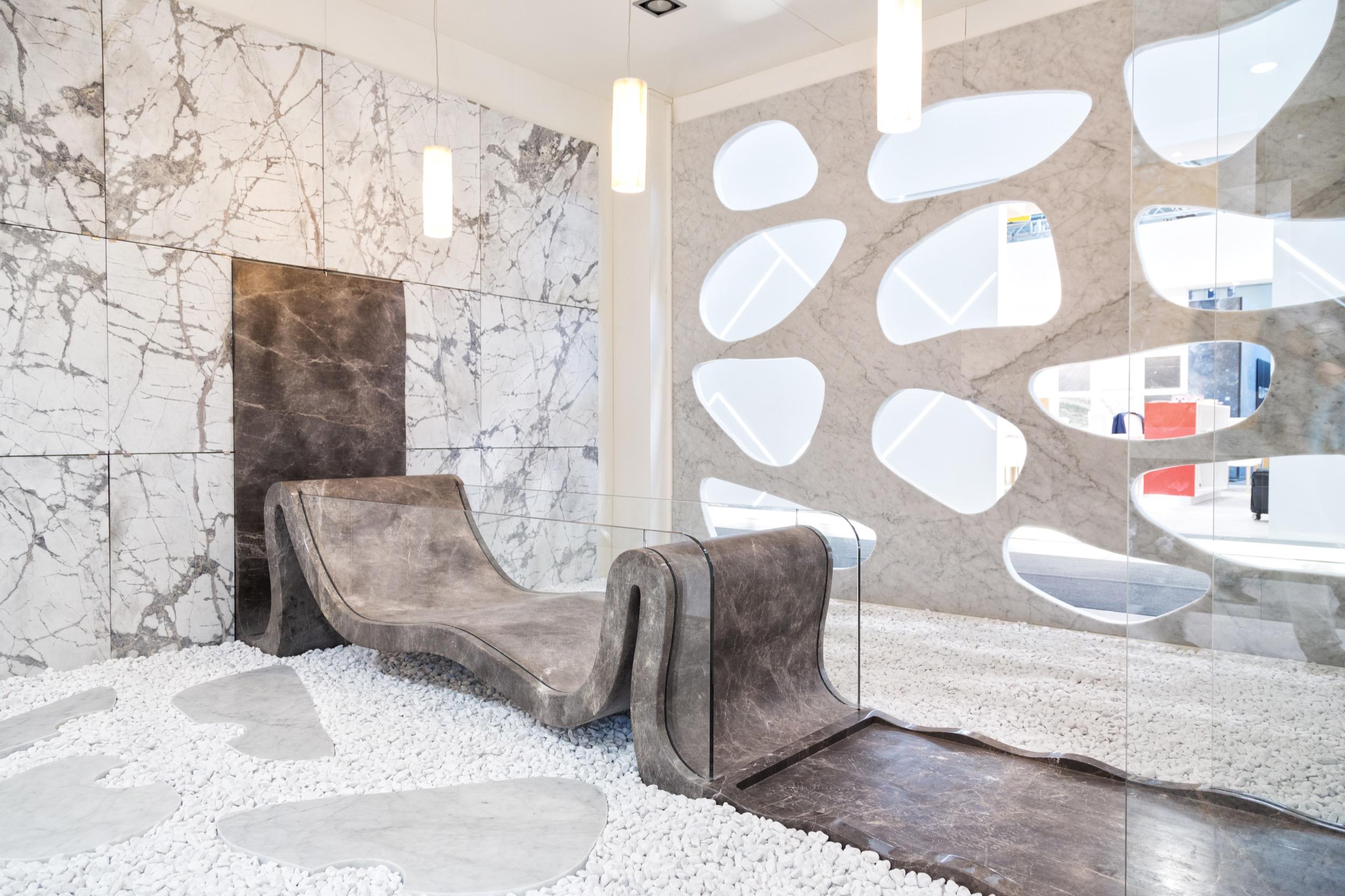 Vasca Da Bagno Hidra : Premiata la nostra installazione a marmomac verona dedalo stone