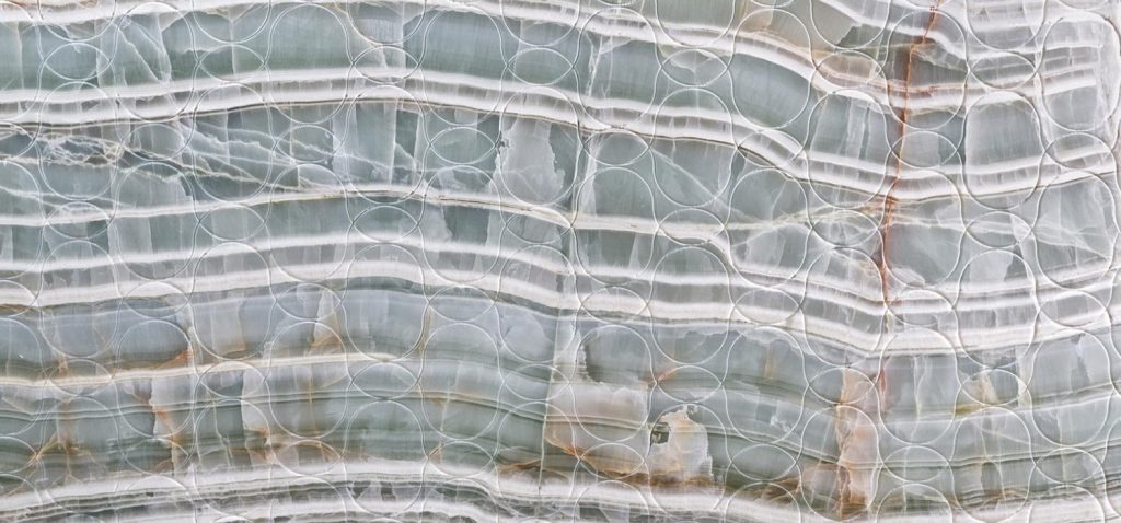Marble tile surface finish