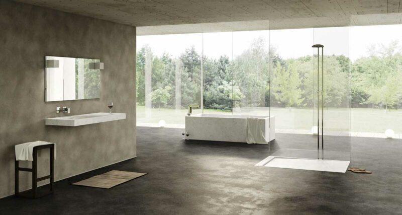 Bagno in marmo Dedalo Stone