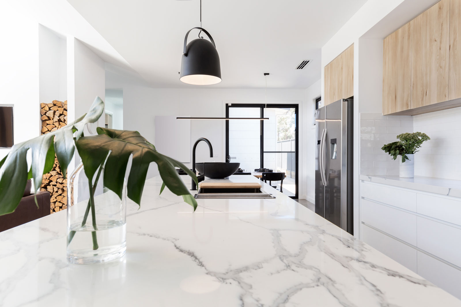 Top cucina marmo