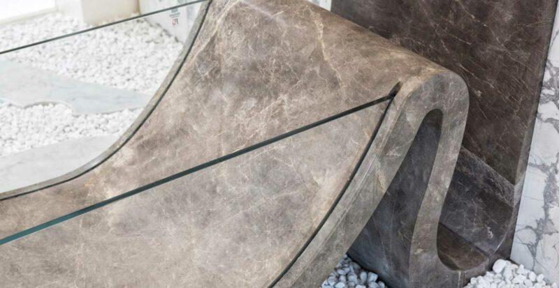 elegant bathtub made in carrara italy usi natural stone marble and glass