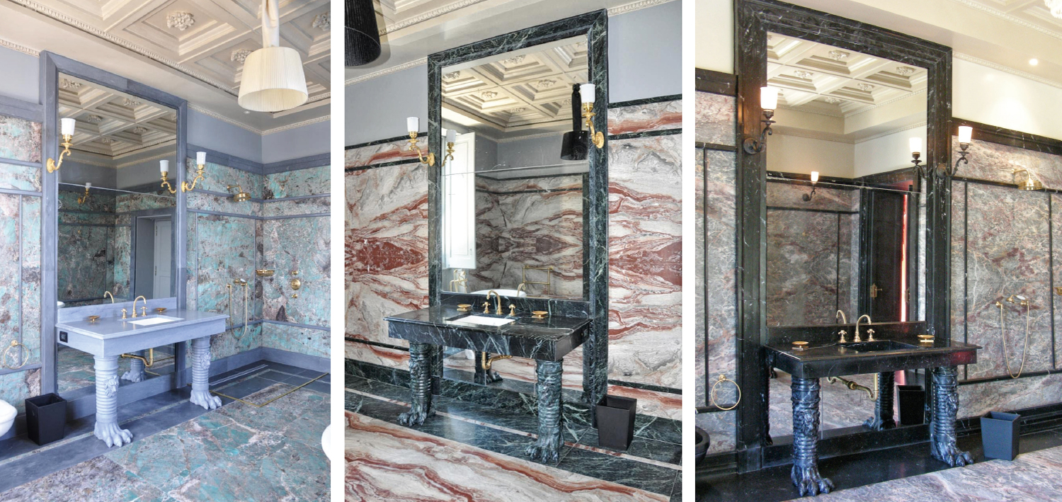 Marble Mirror Frames