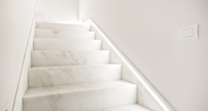 Marble Stairs. Suggestions for elegant houses