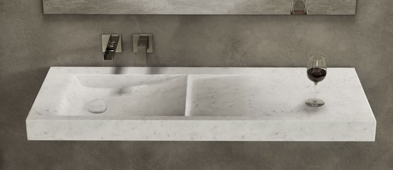 Luxury modern marble sinks