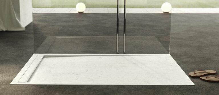 Piatti doccia in marmo su misura