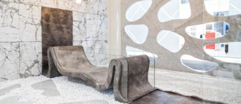 Vasche da bagno eleganti di lusso in marmo