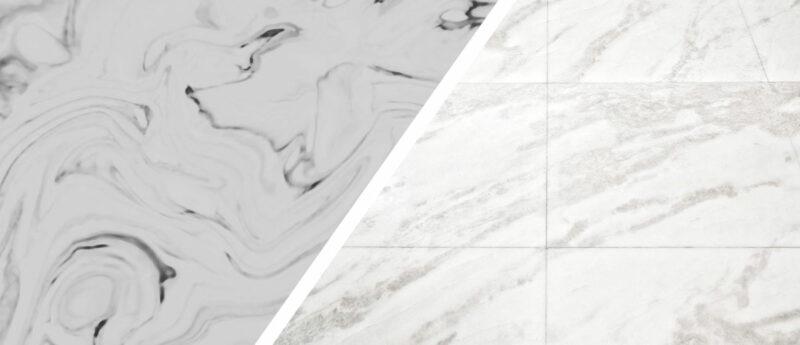 Agglomerato di marmo o marmo vero