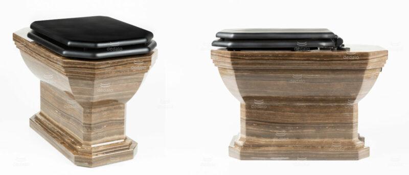 Custom marble toilet